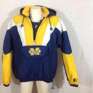 Imperfect 1990s Michigan Starter Jacket